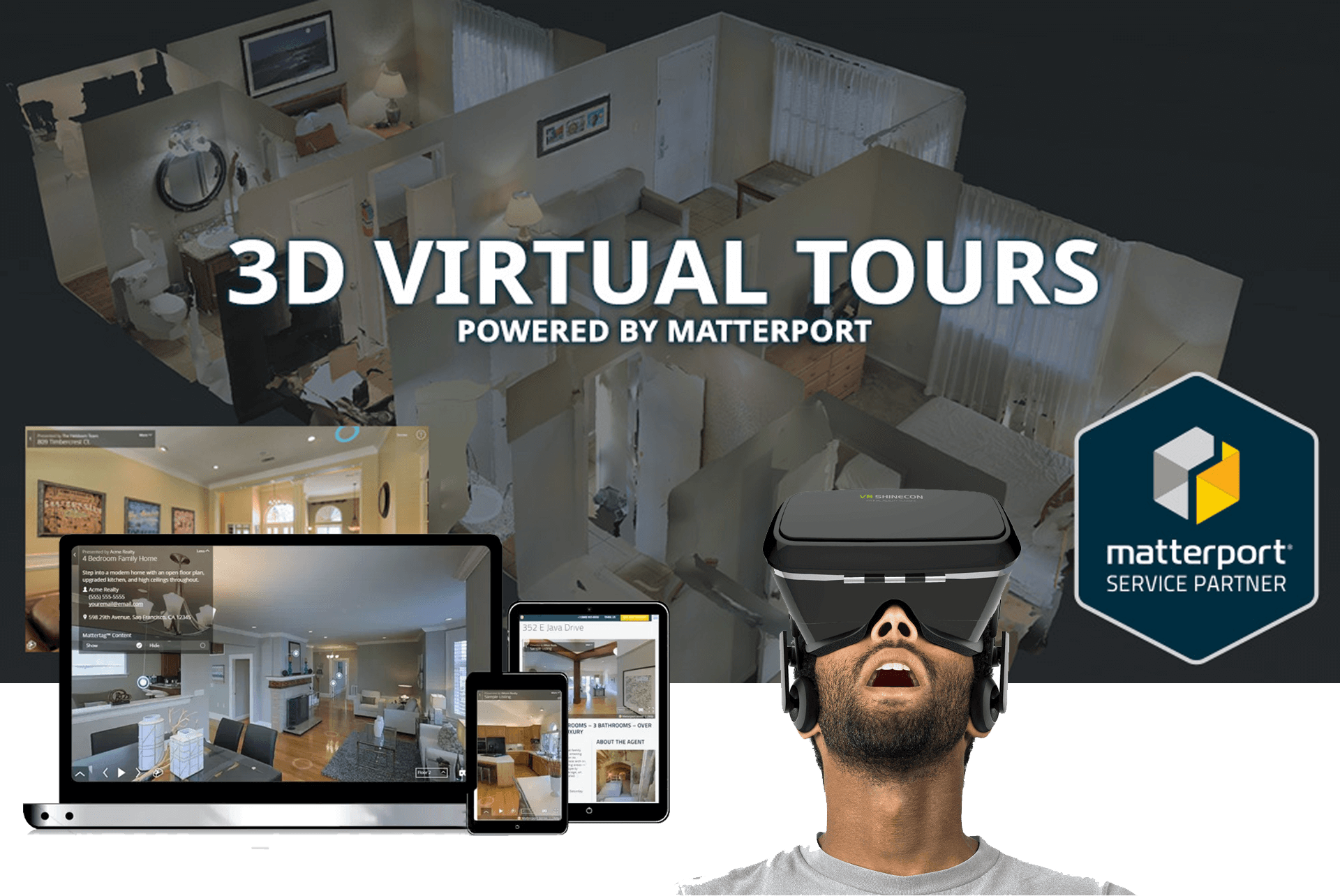 Virtual Reality and virtual tours